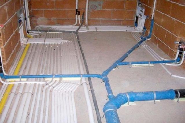 Impianti idraulici su ristrutturazione appartamento Venezia