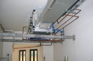 impianto di condizionamento uffici Vicenza