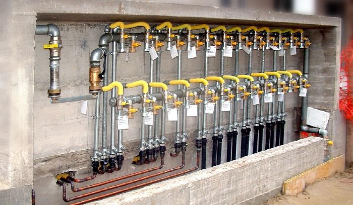impianti gas metano su complesso residenziale Mestre Ve