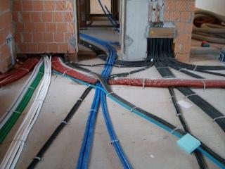 Impianti elettrici su ristrutturazione appartamento Mirano Ve