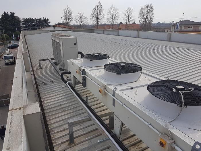 installazione impianto di refrigerazione